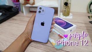 แกะกล่อง iPhone12 สีม่วง (Purple💜) unboxing