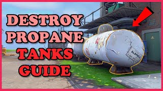 Destroy Propane Tanks Daily Quest | Fortnite Save The World Guide