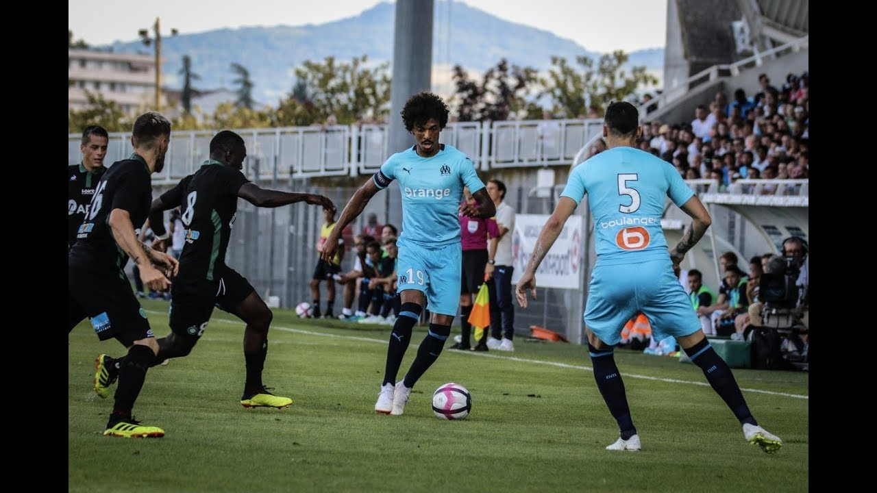 match amical 2   olympique de marseille - as saint-etienne 0-1 le r u00e9sum u00e9
