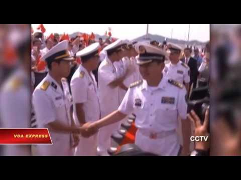 Tàu chiến Trung Quốc vấp phản đối ở Việt Nam