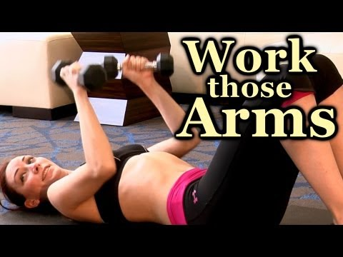 Arm Workout: Tone Up Arms Exercises | Home Beginners Fitness Training Work Out
