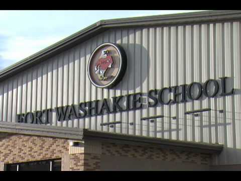 Former NFL Star Rick Upchurch Coaches Basketball at Fort Washakie School