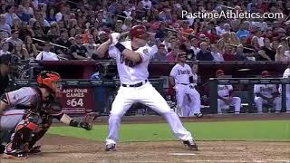 Paul Goldschmidt Home Run Baseball Swing Slow Motion Hitting Mechanics Instruction Diamondbacks MLB