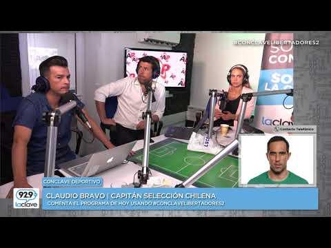 Claudio Bravo conversa en exclusiva con Conclave Deportivo #ConclaveLibertadores2