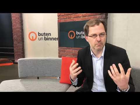 Neues buten-un-binnen Studio von Radio Bremen - Regionalchef Frank Schulte im Interview