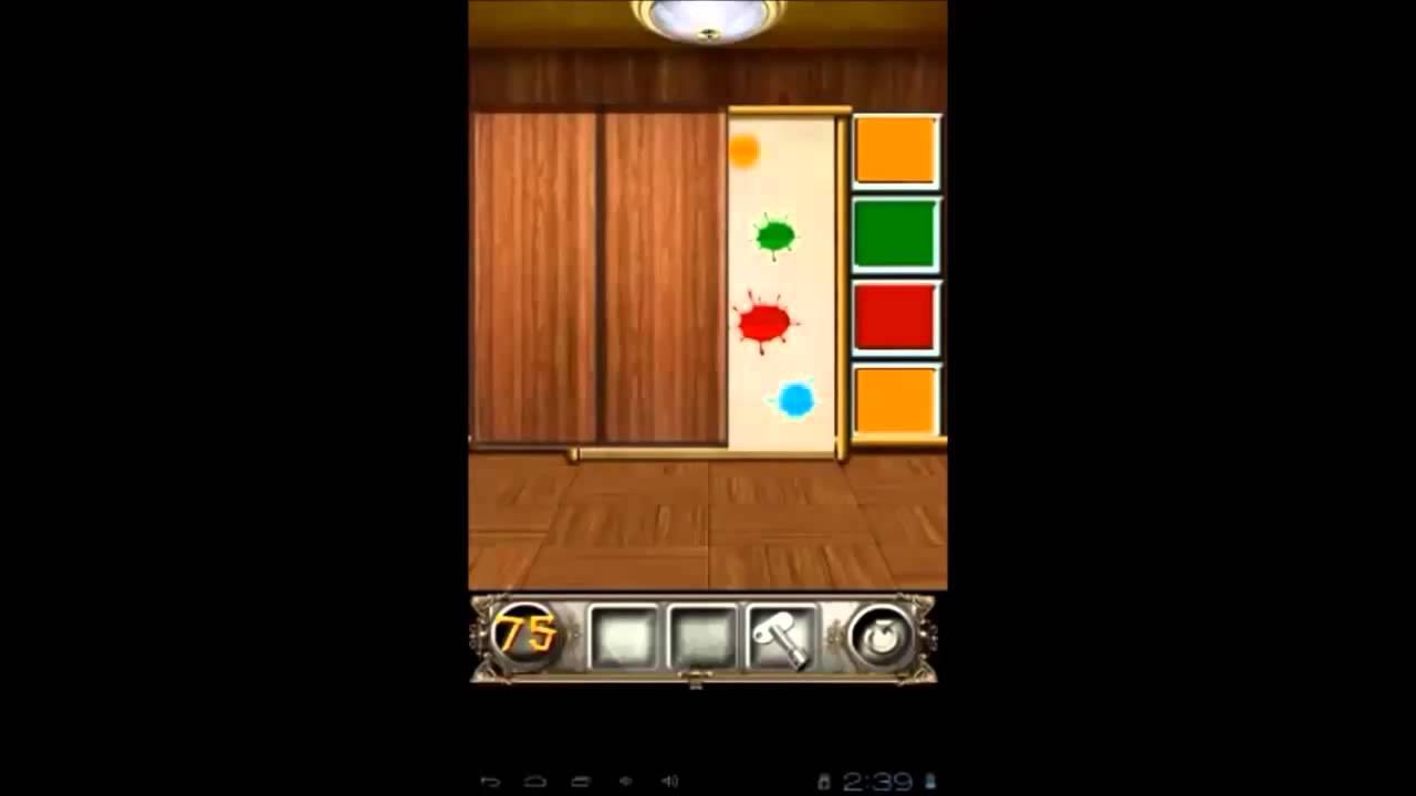 100 Doors Floors Escape Level 75 Walkthrough Youtube