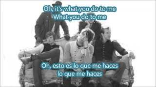 Hey there Delilah ingles español Plain white Ts