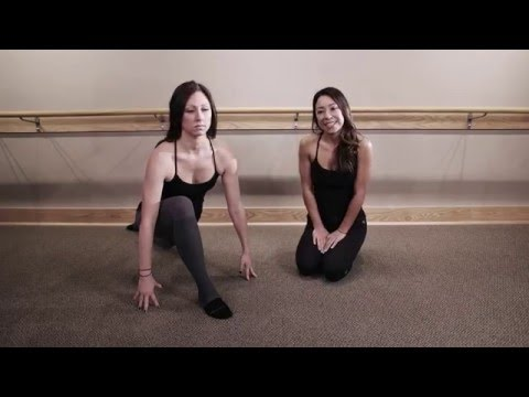 Technique Tip: Proper alignment in your thigh stretch