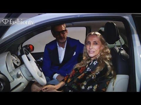 500 by Gucci - Home Design in Milan with Fiat ft Franca Sozzani | Milan Design Week 2012 | FashionTV