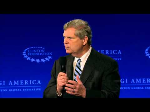 A Conversation with President Bill Clinton and Tom Vilsack – CGI America 2015