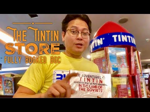Tintin Store Fully Booked Bonifacio High Street Bonifacio Global City Manila Philippines
