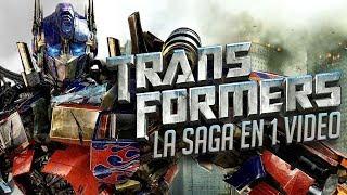 Transformers I La Saga en 1 Video