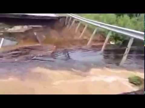 447 km from Tyumen to Khanty Mansiysk washed away the road news