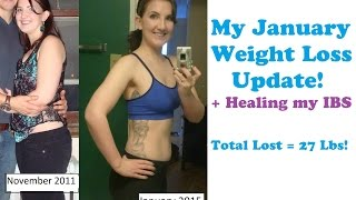 My January Weight Loss Update - How I lost 10 lbs & Healing my IBS! Thumbnail