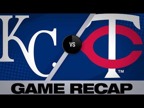 Garver's Go-ahead Home Run Lfits Twins   Royals-Twins Game Highlights 6/14/19
