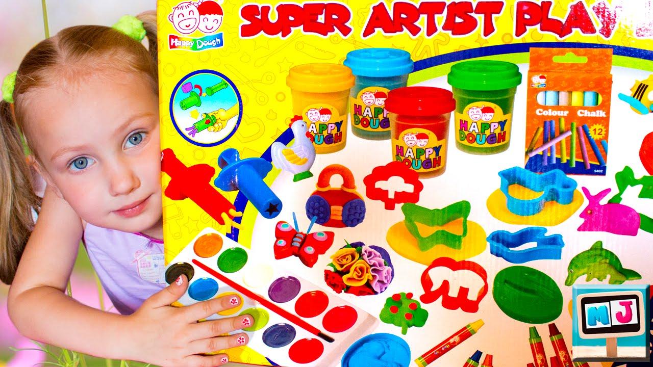 Какие бывают детские наборы для творчества