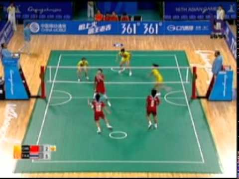 Sepak Takraw(Women's Team A+B) @2010 Asian Games - Thailand vs China (Gold Medal Match) 6/10