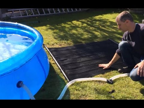 Totally Solar Powered Pool Heating Kit Free Heating Electricity