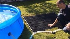 Totally Solar Powered Pool Heating Kit, Free Heating & Electricity - Installation Guide