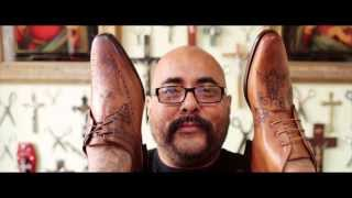 Oliver Sweeney Shoes Tattooed by Celebrity Tattooist Henry Hate