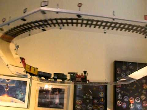 Suspended Model Train