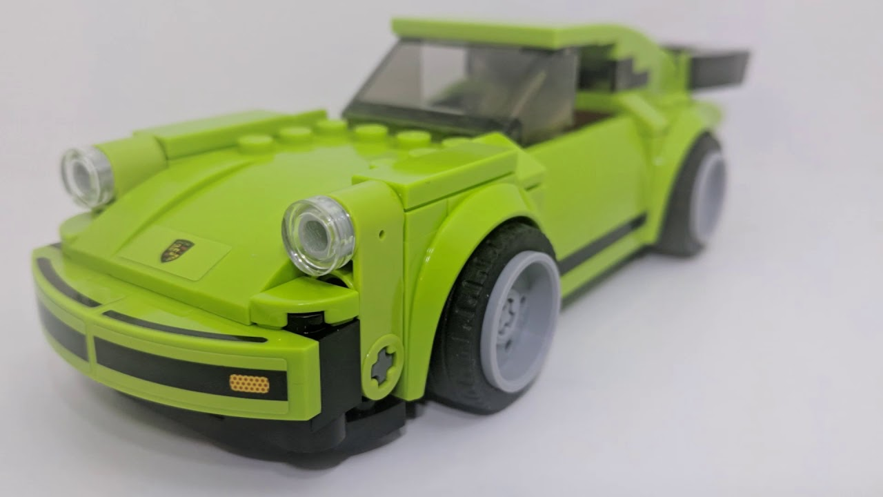 Porsche 911 Rsr And 911 Turbo 30 Speed Champions 75888 Lego