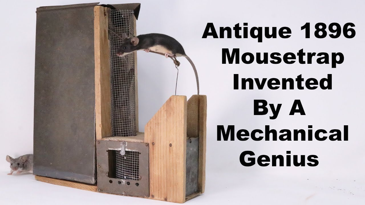 this-complicated-antique-mousetrap-was-invented-by-a-mechanical-genius-mousetrap-monday