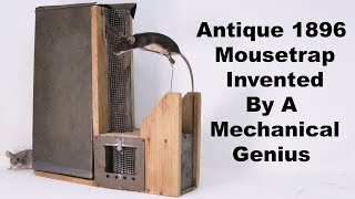 This Complicated Antique Mousetrap Was Invented By A Mechanical Genius. Mousetrap Monday
