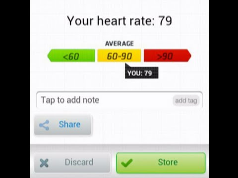 Instant Heart Rate Monitor App For Android Or Any Smart Phone.