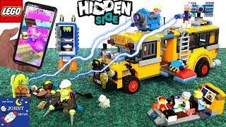 LEGO Hidden Side Paranormal Intercept Bus 3000 LEGO School Bus Toy | Buses For Kids