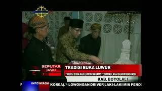Tradisi Buka Kain Luwur Makam Syech Maulana Ibrahim Maghribi