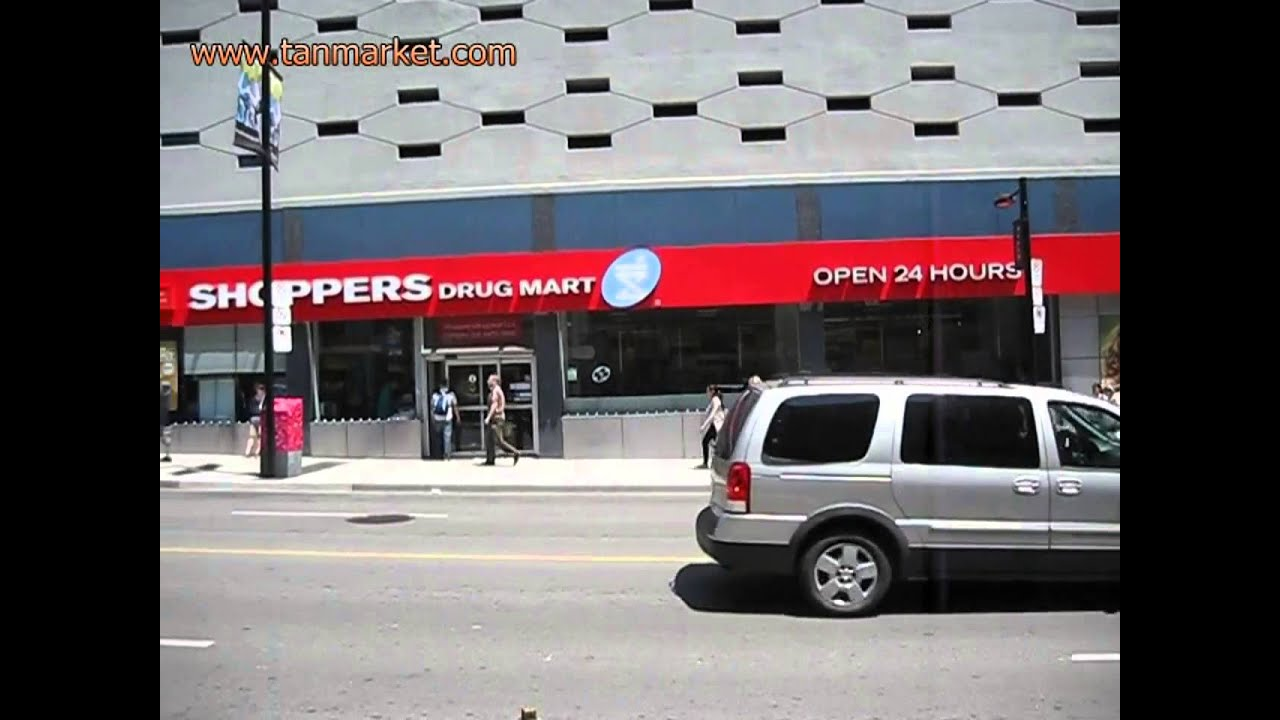 Shoppers Drug Mart - Yonge st Toronto 19 June 13 - youtube com/tanvideo11