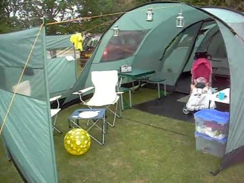 Vango Icarus 600 Tent With Canopy My Grandaughter Layla Mae