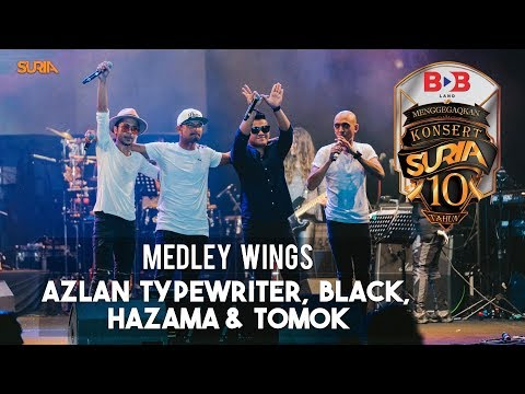 Medley Wings - Hazama, Black, Tomok & Azlan Typewriter