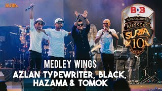 Video Medley Wings - Hazama, Black, Tomok & Azlan Typewriter download MP3, 3GP, MP4, WEBM, AVI, FLV Juli 2018