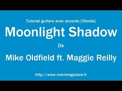 Moonlight Shadow Mike Oldfield Tutoriel Guitare Avec Partition