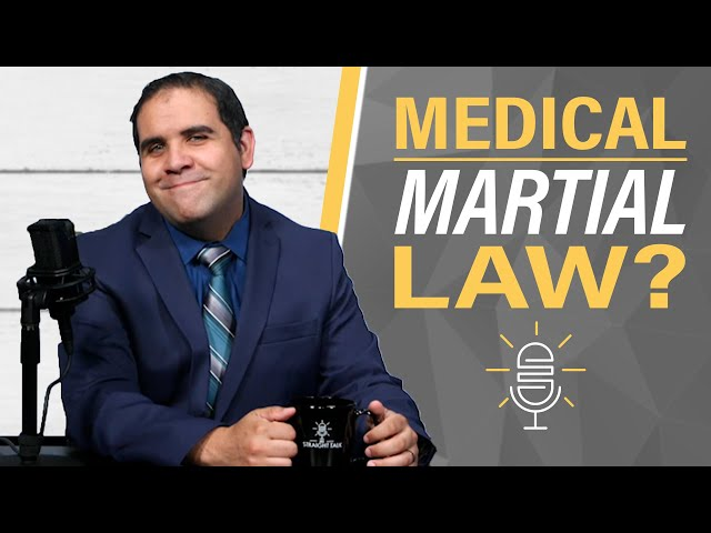 Deep State: Moving America Toward Medical Martial Law