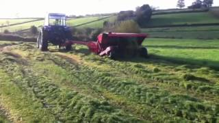 Leyland tractor at grass