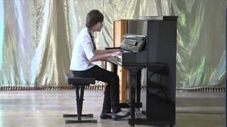 Cоколова Дарья (13 лет) Выпускной экзамен по фортепиано. 7 класс.