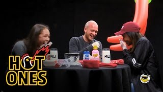 World's Hottest Chip Challenge | Hot Ones by : First We Feast