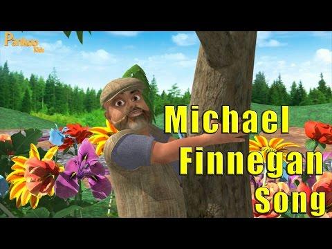 Michael Finnegan - Nursery Rhyme Kids Song - Popular Nursery Rhymes - Pankoo Kids