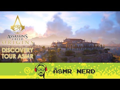 ASMR Whisper | Assassin's Creed Origins | Ancient Egypt Discovery Tour