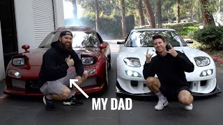 Father and Son REUNITED by their RX-7s!