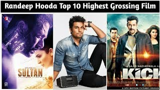 Randeep Hooda Top 10 Highest Grossing Films List And Box Office Collection