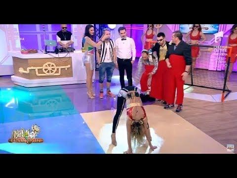 """""""Rupe-te, că te cos eu!"""" Flavia, dans erotic pentru sosia lui Gianluca Vacchi"""