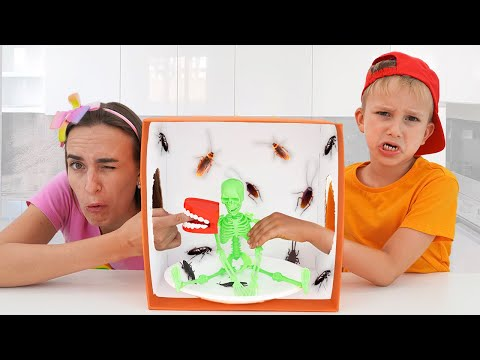 Vlad and Niki - mysterious toys challenge