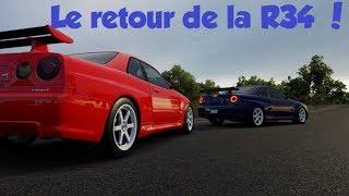 Forza Horizon 3 ROLEPLAY - Le Retour De La R34 !