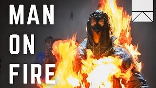 Inside The Mind Of A Stuntman On Fire