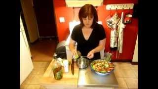 Thai Chicken Strawberry Salad