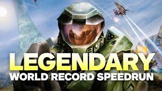 Halo: Combat Evolved Legendary World Record Speedrun